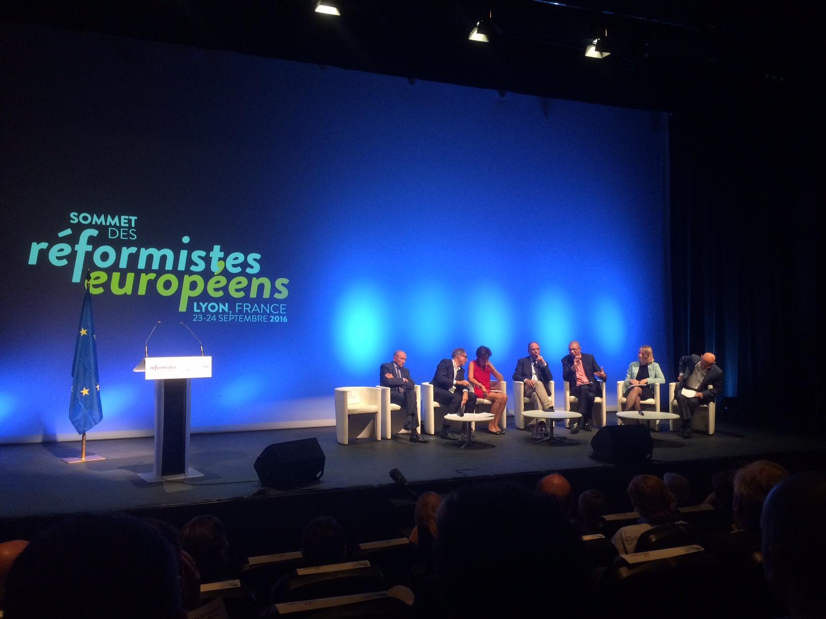 Sommet des réformistes européens