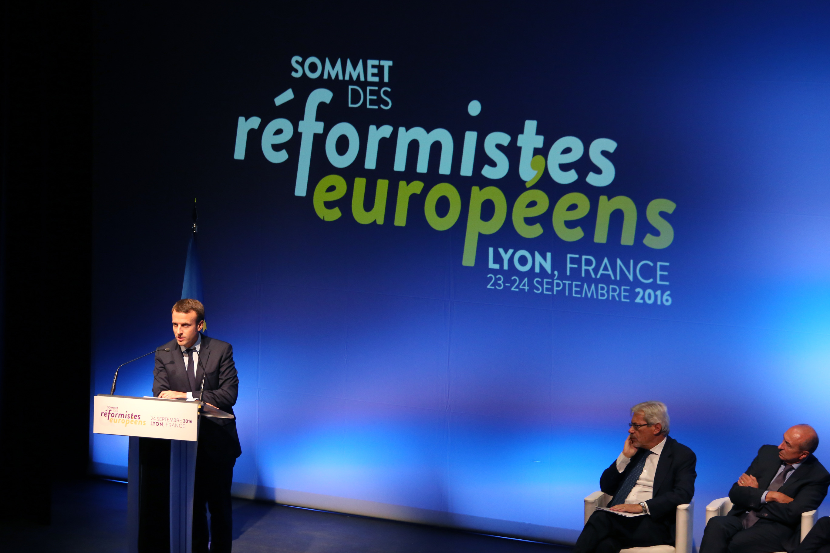 Emmanuel Macron au Sommet des réformistes européens – 2016